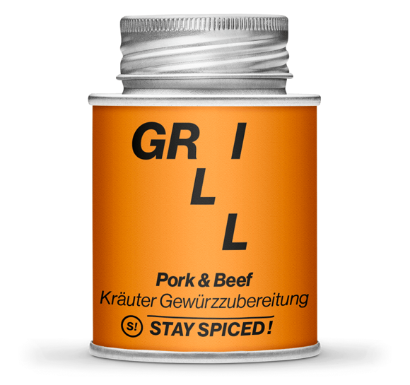 Picture of Stay Spiced Grill Pork & Beef 170ml Schraubdose